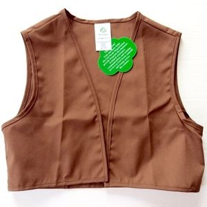 Other - Girl Scouts Brownie Vest New Small